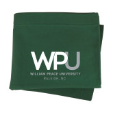 Dark Green Sweatshirt Blanket-WPU William Peace University