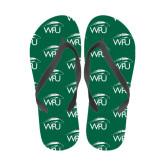 Full Color Flip Flops-WPU Primary Mark