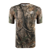 Realtree Camo T Shirt-WPU Primary Mark Tone