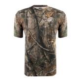 Realtree Camo T Shirt-WPU Primary Mark Tone