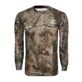 Realtree Camo Long Sleeve T Shirt w/Pocket-WPU Primary Mark Tone