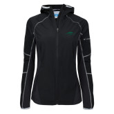 Columbia Ladies Sweet As Black Hooded Jacket-Pacer Head