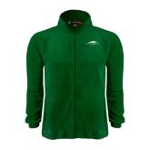 Fleece Full Zip Dark Green Jacket-Pacer Head