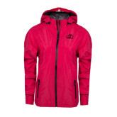 Ladies Dark Fuchsia Waterproof Jacket-WPU Primary Mark Tone