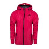 Ladies Dark Fuchsia Waterproof Jacket-WPU Primary Mark Tone