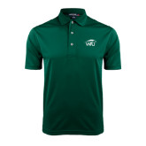 Dark Green Dry Mesh Polo-WPU Primary Mark