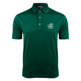 Dark Green Dry Mesh Polo-Lacrosse