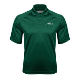 Dark Green Textured Saddle Shoulder Polo-Pacer Head