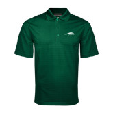 Dark Green Mini Stripe Polo-Pacer Head
