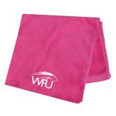 Pink Beach Towel-WPU Primary Mark Tone