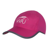 Pink/Charcoal Trail Blaze Cap-WPU Primary Mark