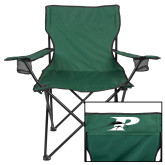 Deluxe Green Captains Chair-P w/Pacer