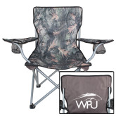 Hunt Valley Camo Captains Chair-WPU Primary Mark