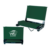 Stadium Chair Dark Green-Alumni