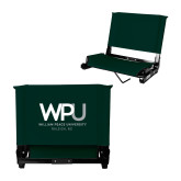 Stadium Chair Dark Green-WPU William Peace University