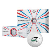 Callaway Supersoft Golf Balls 12/pkg-WPU Primary Mark