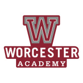 Large Decal-Worcester Academy, 12 inches wide