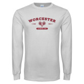 White Long Sleeve T Shirt-Founded 1834