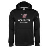 Under Armour Black Performance Sweats Team Hoodie-Worcester Academy