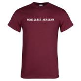 Maroon T Shirt-Worcester Academy