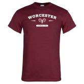 Maroon T Shirt-Founded 1834