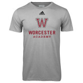 Adidas Climalite Sport Grey Ultimate Performance Tee-Worcester Academy