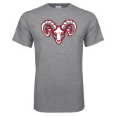 Grey T Shirt-Ram Head