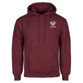 Maroon Fleece Hoodie-Primary Mark