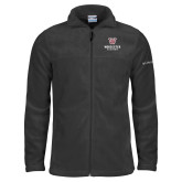 Columbia Full Zip Charcoal Fleece Jacket-Worcester Academy