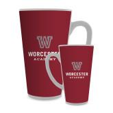 Full Color Latte Mug 17oz-Worcester Academy