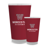 Full Color Glass 17oz-Worcester Academy