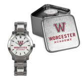 Mens Stainless Steel Fashion Watch-Worcester Academy