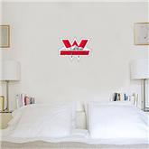 1 ft x 2 ft Fan WallSkinz-Interlocking W Mountaineers - Official Logo