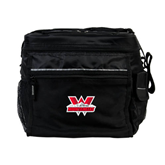 All Sport Black Cooler-Interlocking W Mountaineers - Official Logo