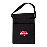 Black Lunch Sack-Interlocking W Mountaineers - Official Logo