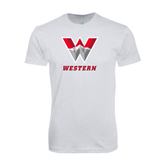 Next Level SoftStyle White T Shirt-W Western