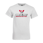 White T Shirt-Mountain Bike Team