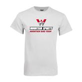 White T Shirt-Mountain Bike Team
