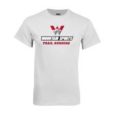 White T Shirt-Trail Running