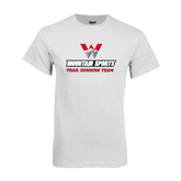 White T Shirt-Trail Running Team