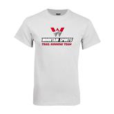 White T Shirt-Trail Running Team