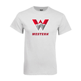 White T Shirt-W Western