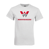 White T Shirt-W Mountaineers