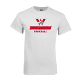 White T Shirt-Football