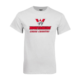 White T Shirt-Cross Country