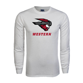 White Long Sleeve T Shirt-Mad Jack Western