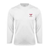 Syntrel Performance White Longsleeve Shirt-W Western