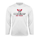 Syntrel Performance White Longsleeve Shirt-Ski Team