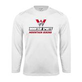 Syntrel Performance White Longsleeve Shirt-Mountain Biking