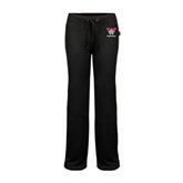 ENZA Ladies Black Fleece Pant-W Western